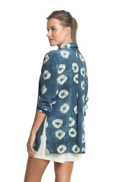 camisa-classica-seda-estampada-padang-tamanho-PP-Costas
