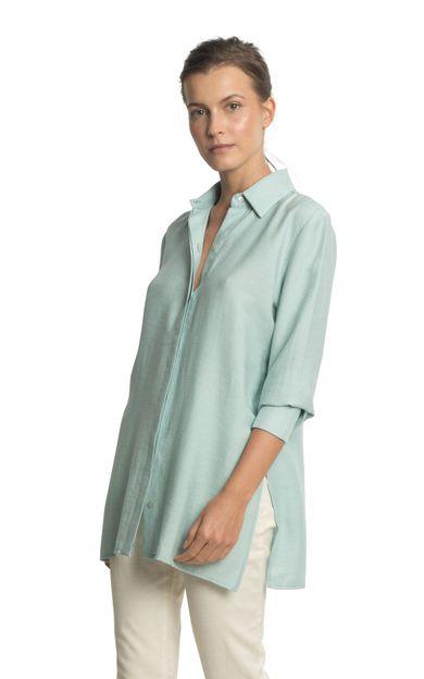 camisa-azteca-colors-azul-ceu-tamanho-PP-Frente
