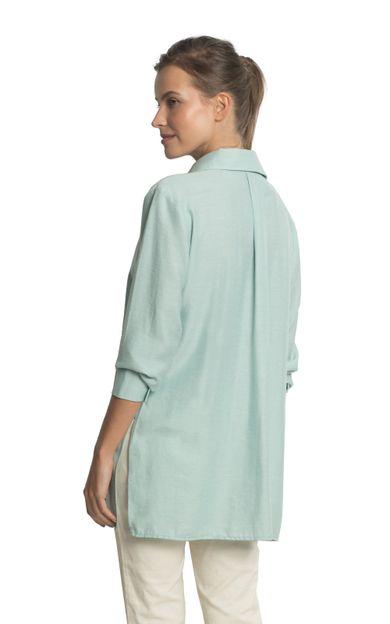 camisa-azteca-colors-azul-ceu-tamanho-PP-Costas