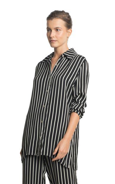 camisa-sleep-fio-tinto-listra-tamanho-P-Frente