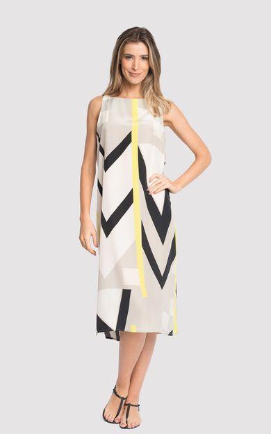 vestido-seda-classico-graphism-tamanho-P-Frente
