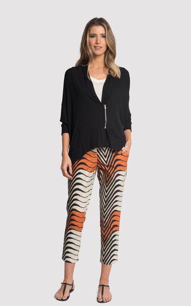 blusa-assimetrica-ziper-preto-tamanho-G-Frente