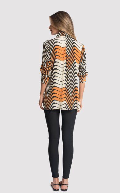 camisa-classico-seda-estampado-antilope-tamanho-PP-Costas