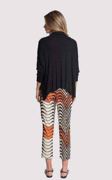 blusa-assimetrica-ziper-preto-tamanho-G-Costas