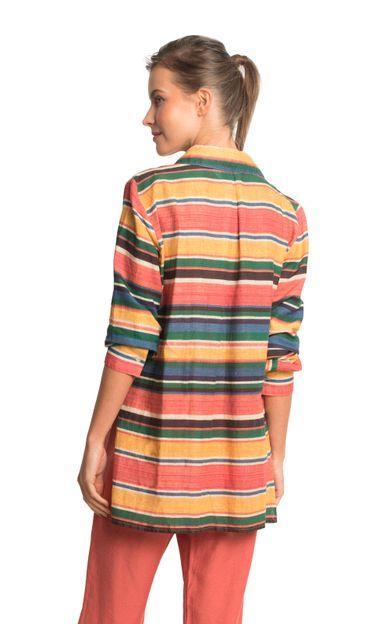 camisa-azteca-azteca-tamanho-PP-Costas