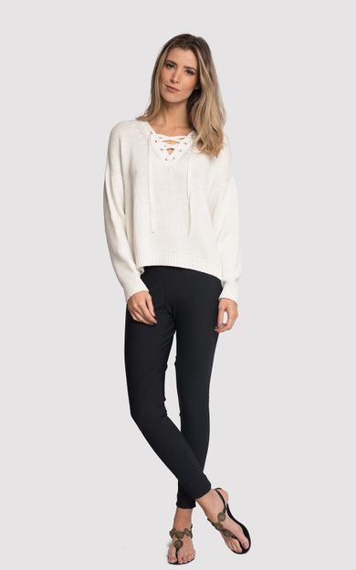 tricot-ilhos-off-white-tamanho-M-Frente