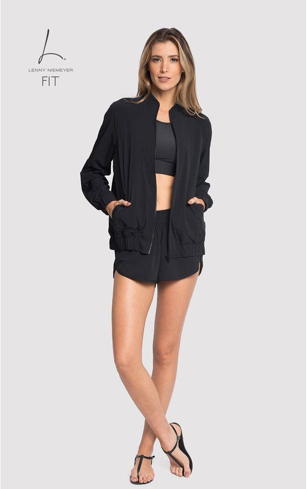jaqueta-fitness-preto-tamanho-M-Frente