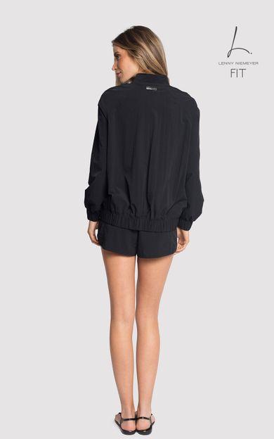 jaqueta-fitness-preto-tamanho-M-Costas