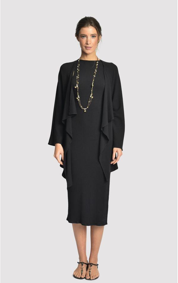 vestido-quimono-rib-preto-tamanho-PP-Frente