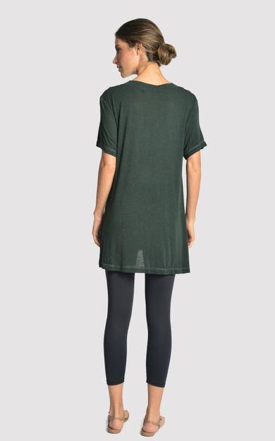 blusa-malha-fenda-lateral-atlantic-tamanho-PP-Costas