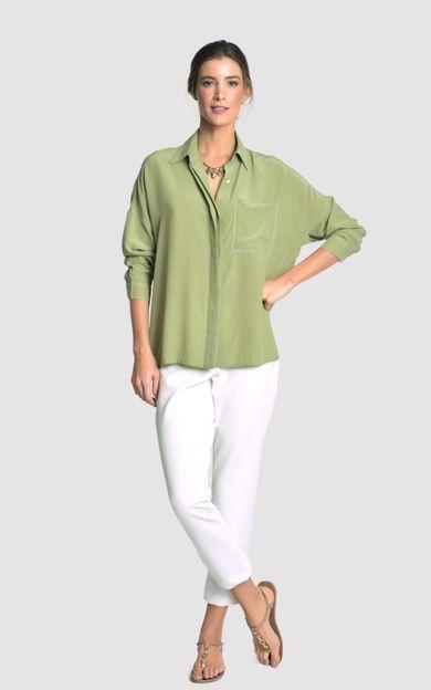 camisa-pesponto-triplo-verde-cana-tamanho-PP-Frente