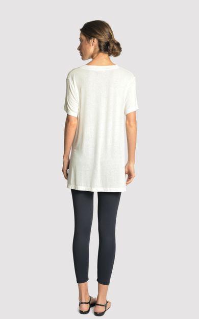 blusa-malha-fenda-lateral-off-white-tamanho-P-Costas