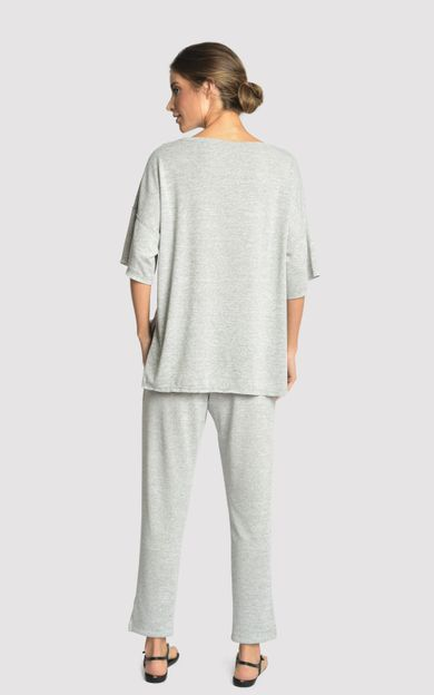blusa-malha-detalhe-a-fio-mescla-tamanho-P-Costas