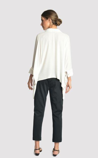 camisa-abotoadura-off-white-tamanho-M-Costas
