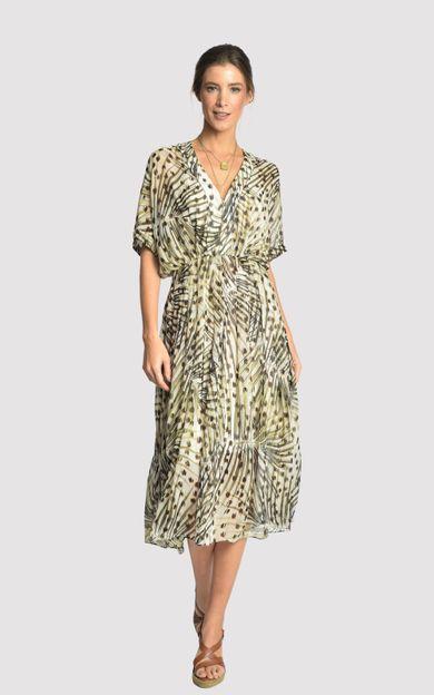 vestido-pregas-guepardo-tamanho-P-Frente