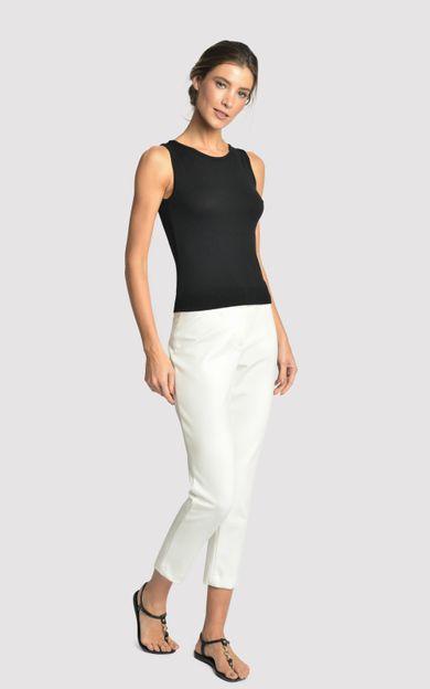 blusa-tricot-preto-tamanho-M-Frente