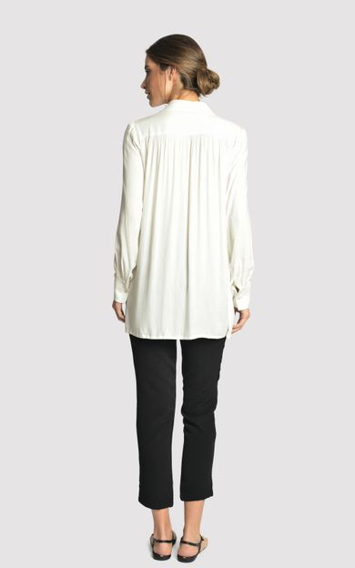 camisa-fresh-off-white-tamanho-P-Costas