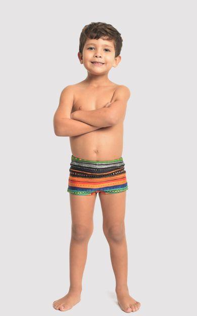 SUNGA-SHORT-INFANTIL-TUPI