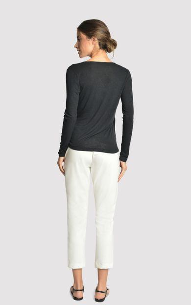blusa-manga-longa-transpasse-preto-tamanho-P-Costas