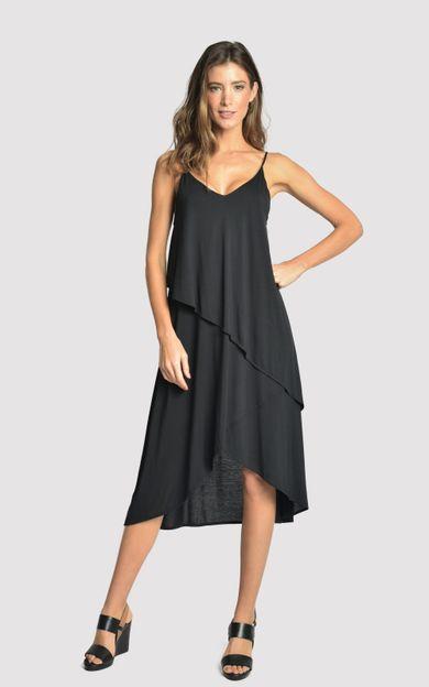 vestido-camadas-modal-preto-tamanho-PP-Frente