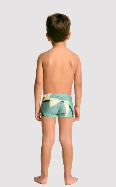 sunga-short-infantil-amazonas-tamanho-10-Costas
