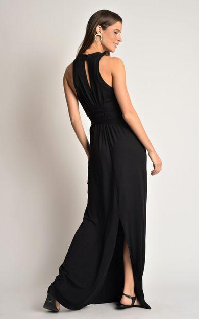 vestido-faixa-amarracao-preto-tamanho-PP-Costas