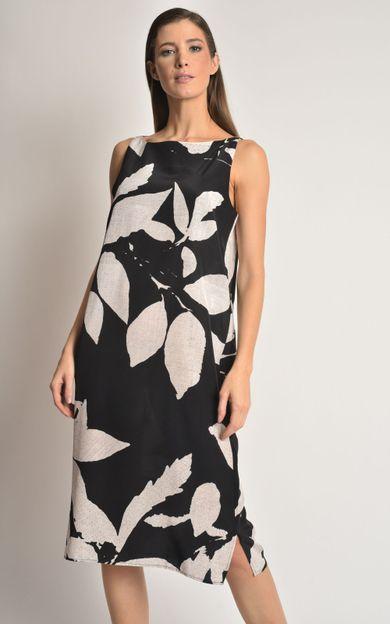 vestido-seda-classico-folhas-tamanho-P-Frente
