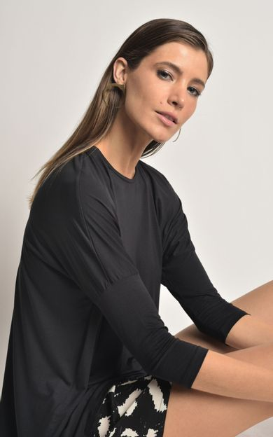 blusa-ampla-manga-modal-preto-tamanho-M-Frente
