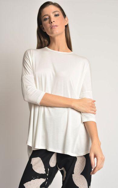 blusa-ampla-manga-modal-off-white-tamanho-P-Frente