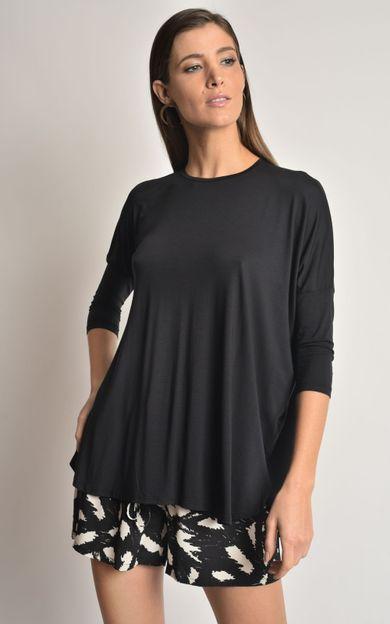 blusa-ampla-manga-modal-preto-tamanho-P-Costas