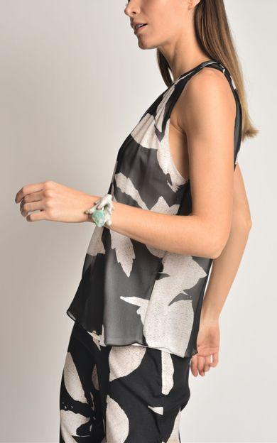 blusa-seda-franzida-folhas-tamanho-PP-Costas
