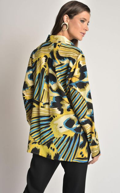 camisa-classica-seda-estampada-panapana-tamanho-M-Costas