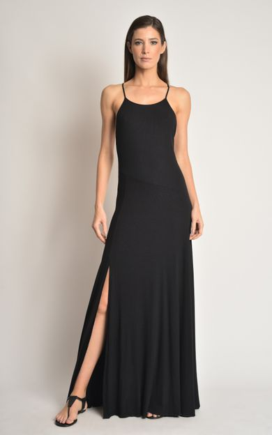 vestido-longi-rib-preto-tamanho-P-Costas