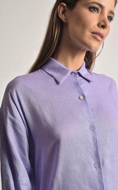 camisa-linho-basic-quartzo-tamanho-G-Frente