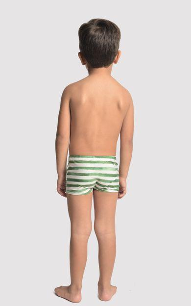 sunga-short-infantil-listra-verde-tamanho-4-Costas