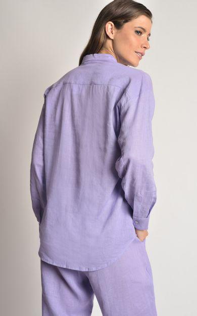 camisa-linho-basic-quartzo-tamanho-G-Costas
