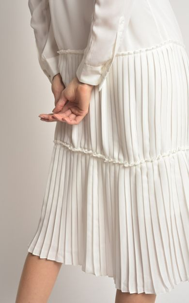 vestido-shirt-plissado-off-white-tamanho-P-Costas