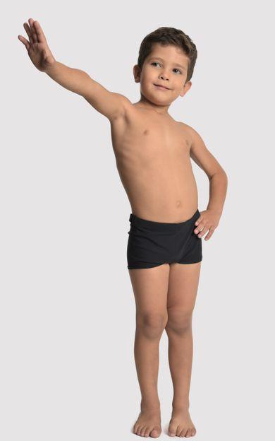 sunga-short-infantil-preto-tamanho-2-Frente