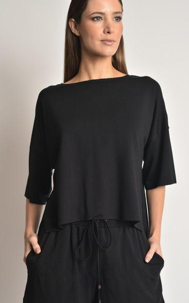 blusa-a-fio-moletinho-preto-tamanho-P-Frente