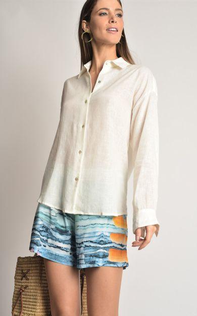 camisa-linho-basic-off-white-tamanho-M-Frente2