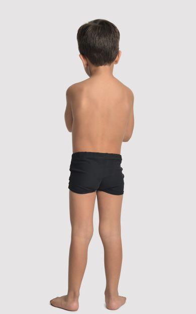 sunga-short-infantil-preto-tamanho-2-Costas