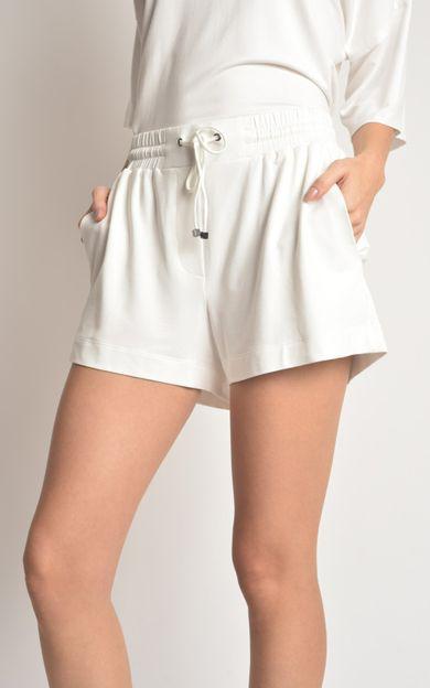 short-moletinho-off-white-tamanho-P-Costas