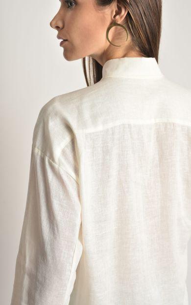 camisa-linho-basic-off-white-tamanho-M-Costas