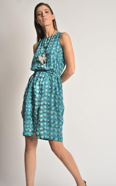 vestido-seda-new-rolote-aqua-tamanho-PP-Frente