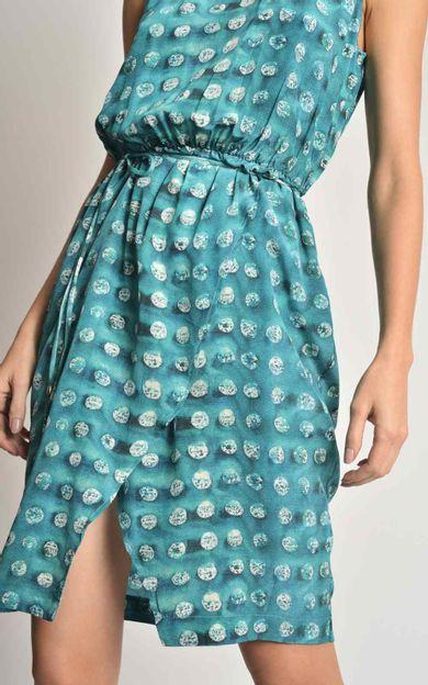 vestido-seda-new-rolote-aqua-tamanho-PP-Costas