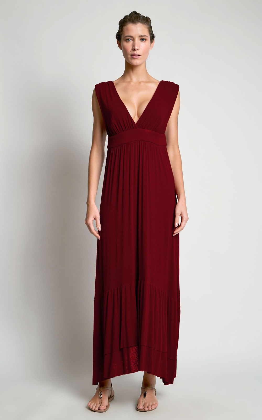 48096c234 Vestido Assimétrico Babados Rubi - Lenny Niemeyer