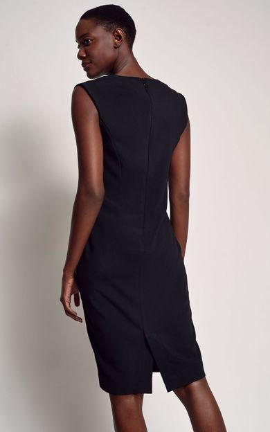 vestido-decote-v-preto-tamanho-PP-Costas