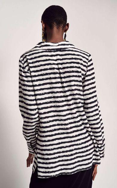 camisa-classica-seda-estampada-listra-tear-tamanho-M-Costas