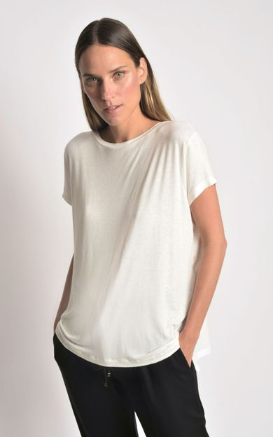 blusa-malha-ampla-off-white-tamanho-PP-Frente