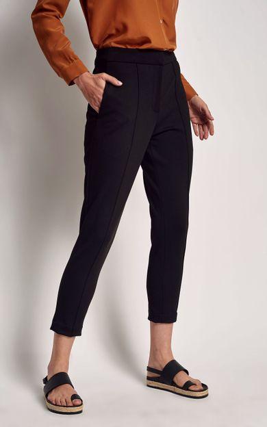 calca-malha-cintura-alta-preto-tamanho-P-Costas
